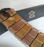 VNTG Beautiful 80s Leather Belt
