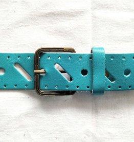 VNTG Cute Blue 80s Belt
