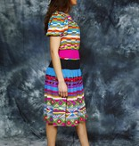 Colorful 90s dress