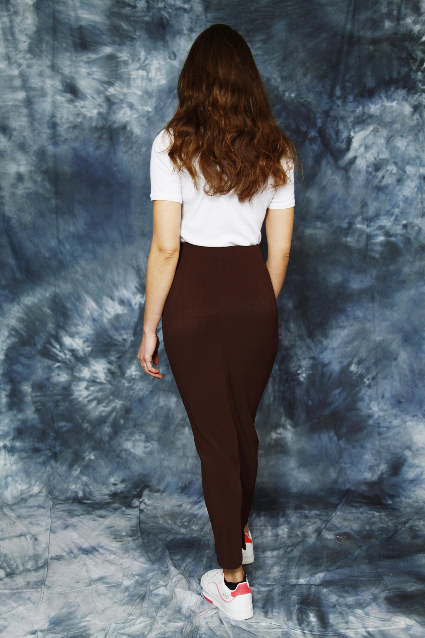 Brown 90s maxi skirt