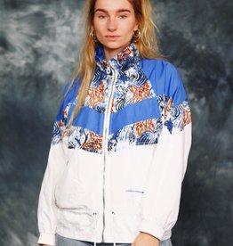 Printed 80s track jacket