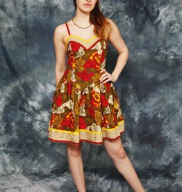 Cute 80s mini dress