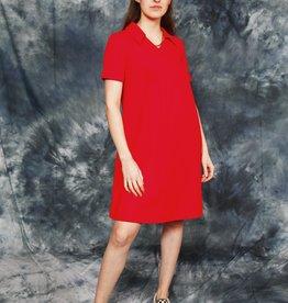 Red 70s dress