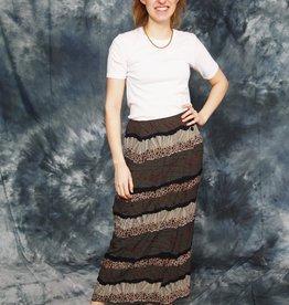 Printed 90s skirt