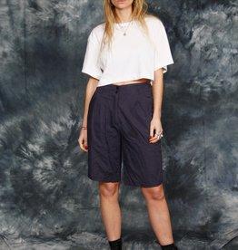 Blue 80s shorts