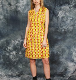 Colorful 70s dress