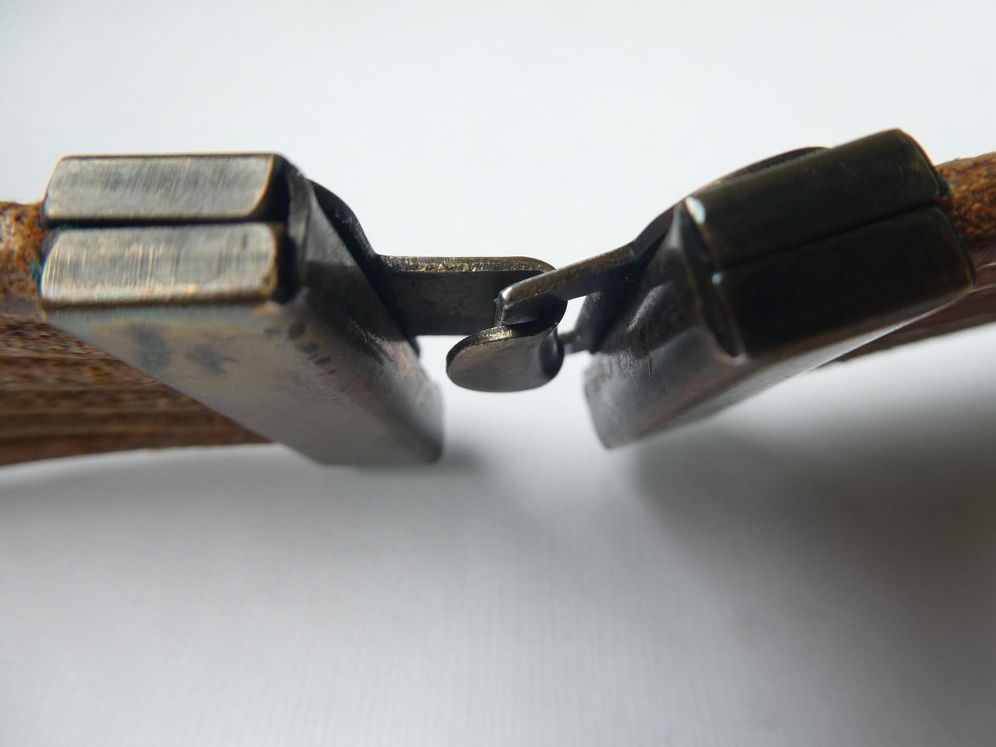 VNTG Amazing 80s Leather Belt
