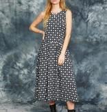 Printed 90s dress