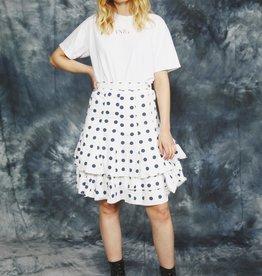 Ruffled 80s skirt