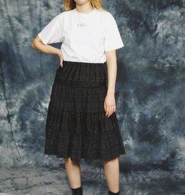 Black 80s skirt