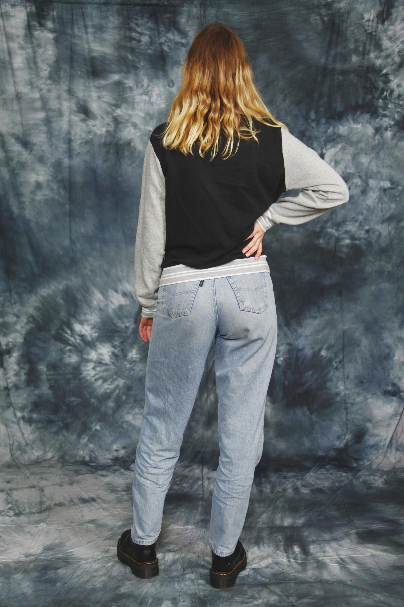 Ellesse collage sweater jacket