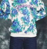 Floral 80s jumper