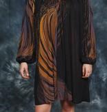 Brown 70s dress