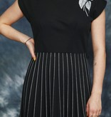 Black 70s dress