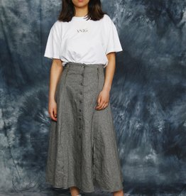 Button front 90s skirt