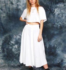 White 90s skirt