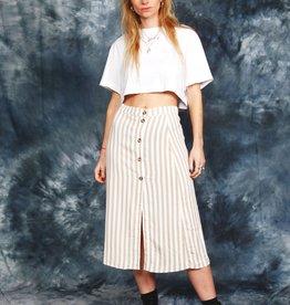 Striped 80s skirt