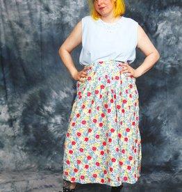 Floral 90s skirt