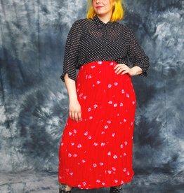 Classic polka dot blouse