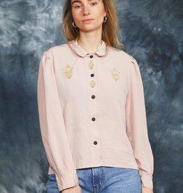 Classy 80s blouse