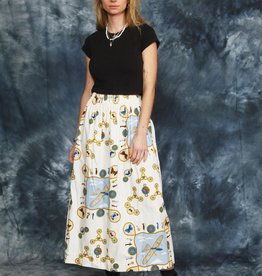 High waist 90s skirt