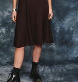 Brown circle skirt