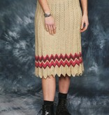 Crochet 70s skirt