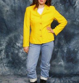 Yellow 70s jacket