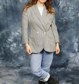Woven 80s jacket