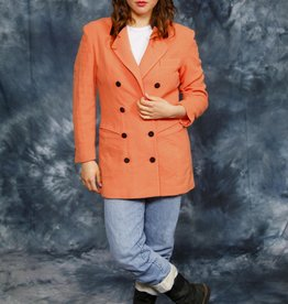Peach 80s jacket