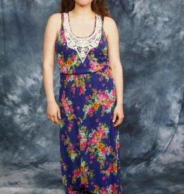 Floral 00s maxi dress