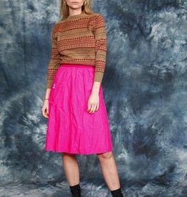 Pink 80s skirt