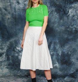 Striped 70s skirt