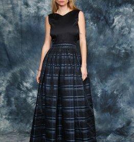Classic 80s maxi dress