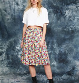 Floral 70s skirt