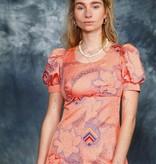 Floral 70s maxi dress