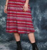 Printed 70s skirt