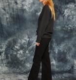 Black 90s Adidas jumper