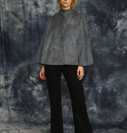 Suede Rene Dupont cape