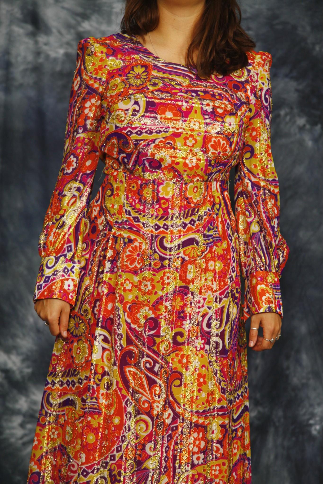 Gorgeous 70s maxi dress