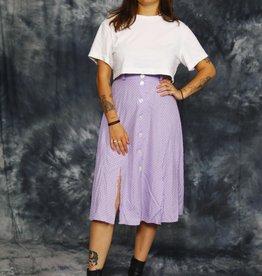 Purple 90s skirt