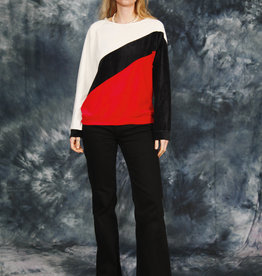 Velvet 80s jumper
