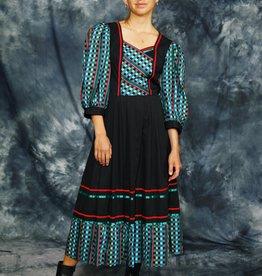 Gorgeous 80s maxi dress