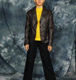 Dark brown 70s jacket