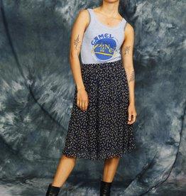 Floral 80s skirt