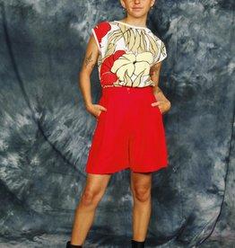 Floral 80s shirt