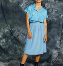 Blue 80s shirt