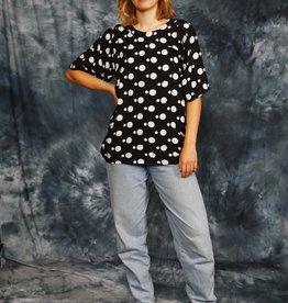 Polka dot 80s shirt