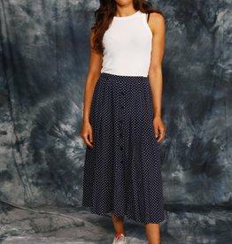 Classy 90s polka dot skirt