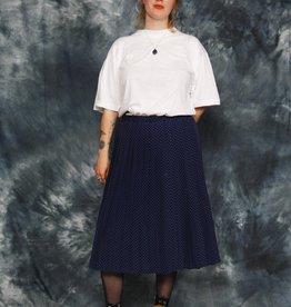 Polka dot 80s skirt